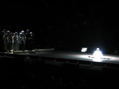 wat opera meepikken (Aida in kasteel Ooidonk)