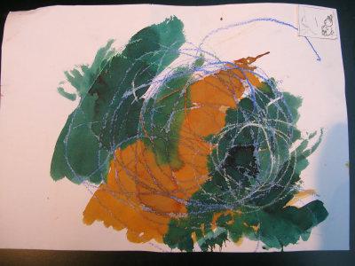 Lange discussies voeren met dochter Ilie over de diepere semantische lagen in haar verder evoluerende kunstwerkjes